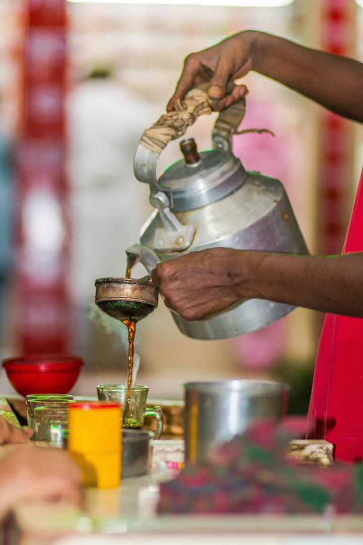 Local Tea Store at Dhaka
